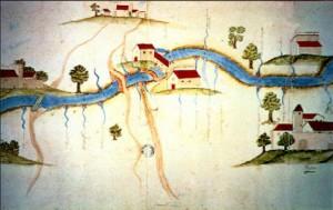 Las Canals en 1750